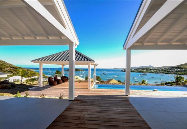 Villa in Cul-de-sac - VILLA WITH BEAUTIFULL POOL IN FRONT OF ST BARTH AND PINEL ISLAND