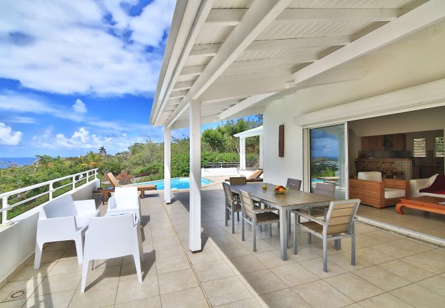 Villa in Orient Bay - CONTEMPORARY VILLA SEA VIEW, CALM AND TRANQUILITY - ORIENT BAY GARDENS