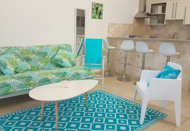 Apartment in Orient Bay - TURQUOISE APARTMENT ON ORIENT BAY BEACH